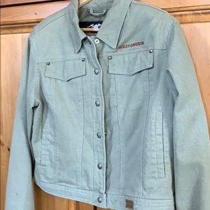 Unique Harley-Davidson jacket, Large.